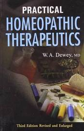 Practical Homeopathic Therapeutics by Willis A Dewey image