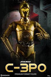 Star Wars: C-3PO Premium Format Statue