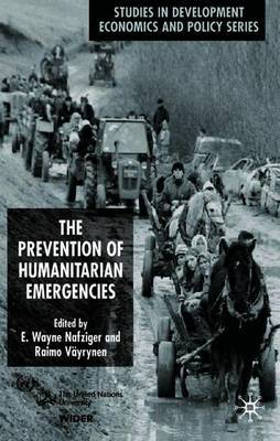 The Prevention of Humanitarian Emergencies by E.Wayne Nafziger image