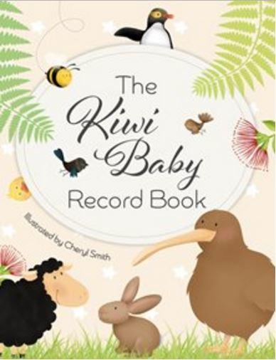 Kiwi Baby Record Book
