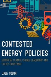 Contested Energy Policies by Jale Tosun