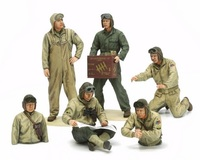 Tamiya 1/35 US Tank Crew Set (European Theater) - Model Kit image