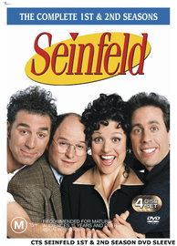 Seinfeld - The Complete First and Second Seasons on DVD image