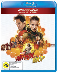 Ant-Man and the Wasp on 3D Blu-ray