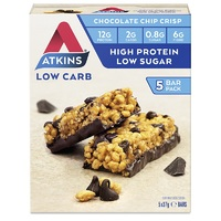 Atkins Day Break Bar - Chocolate Chip Crisp (5 x 30g) image