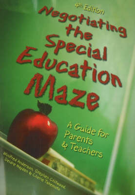 Negotiating the Special Education Maze: A Guide for Parents and Teachers by Winifred Anderson image