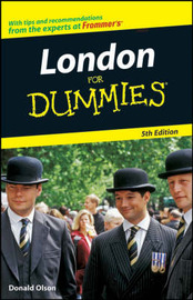 London for Dummies by Donald Olson image