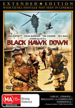Black Hawk Down - Extended Edition on DVD