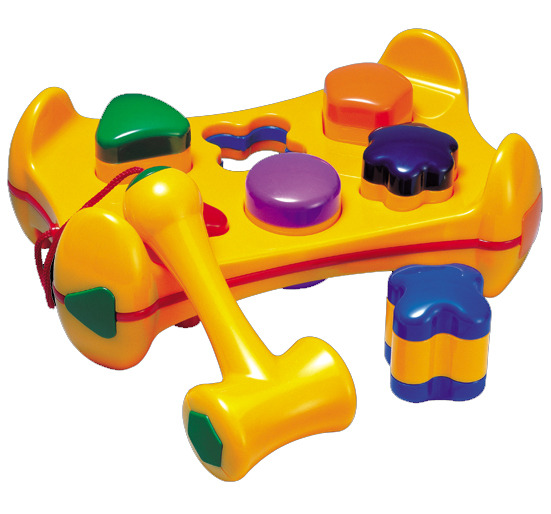 Tolo Shape Sorter Play Bench image