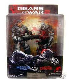 "Gears of War 7"" Action Figure Set - Marcus and Locust 'Chainsaw Duel' 2Pack image"