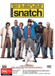 Snatch on DVD image