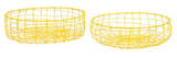 General Eclectic Fruit Baskets - Yellow