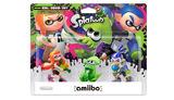 Nintendo Amiibo Splatoon - Triple Character Figure Pack for Nintendo Wii U