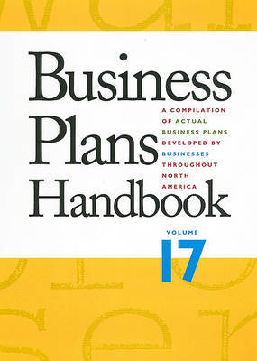 Business Plans Handbook, Volume 17