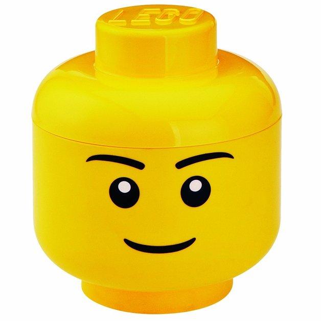 LEGO: Storage Small Head - Boy
