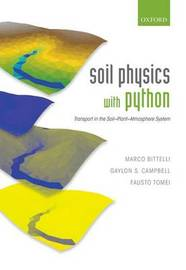 Soil Physics with Python by Marco Bittelli