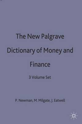 The New Palgrave Dictionary of Money and Finance image