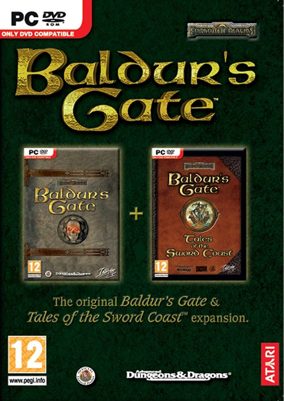 Baldur's Gate + Tales of the Sword Coast Expansion for PC