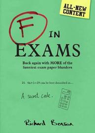 F in Exams (2018) by Richard Benson image