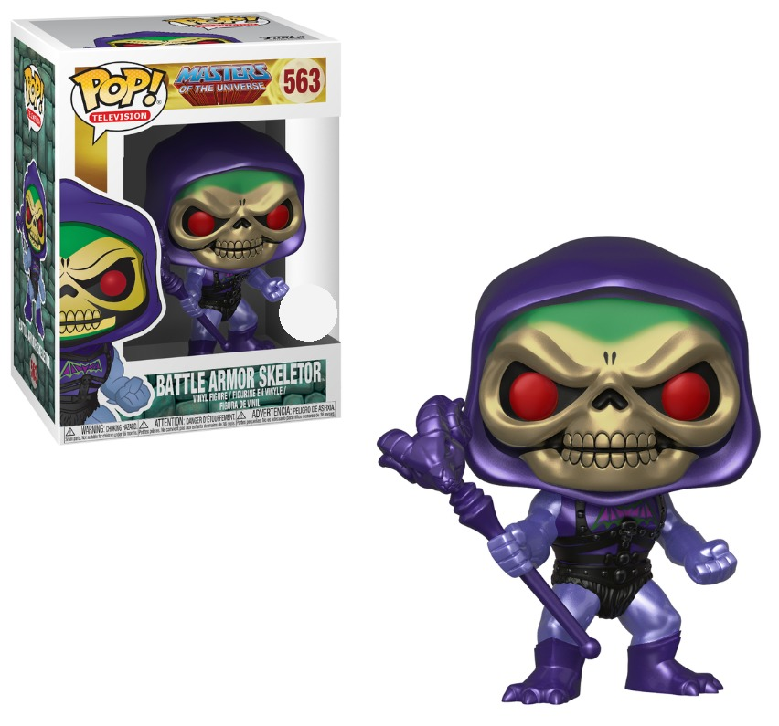 MOTU - Skeletor (Metallic Ver.) Pop! Vinyl Figure image