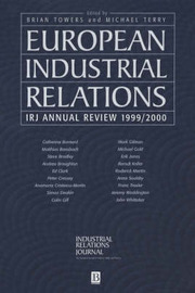Industrial Relations Journal European Annual Review: 1999/2000 image