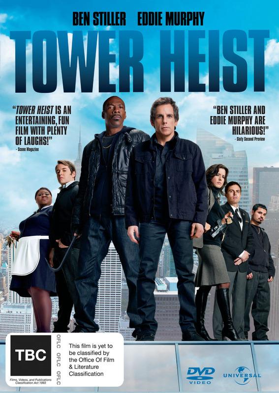 Tower Heist on DVD