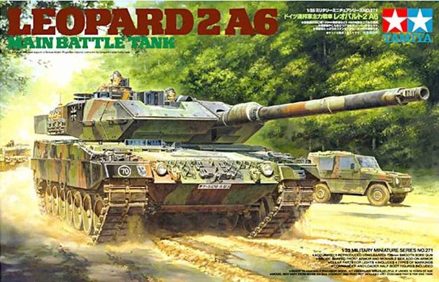 Tamiya Leopard Tank 2 A6 1:35 Model Kit
