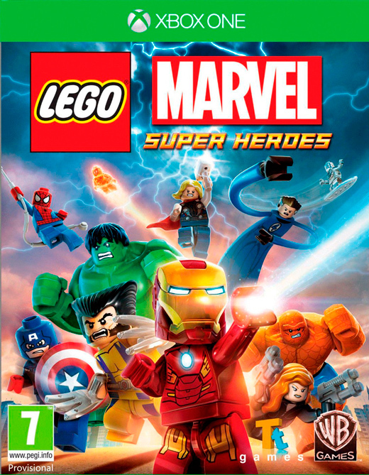 LEGO Marvel Super Heroes for Xbox One image