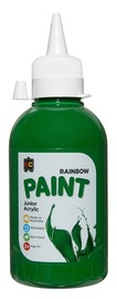 EC Colours - 250ml Rainbow Acrylic Paint - Brilliant Green