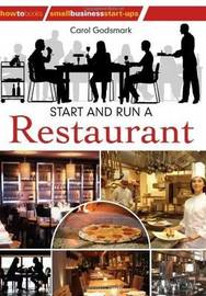 Start & Run A Restaurant 2nd Ed by Carol Godsmark image