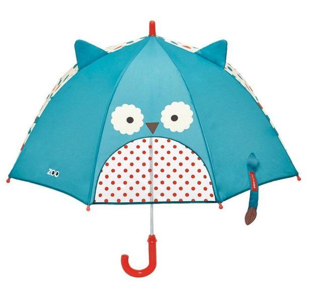Skip Hop: Zoobrella: Little Kid Umbrella - Owl