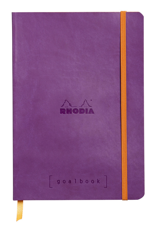 Rhodiarama A5 Goalbook Dot Grid - Violet