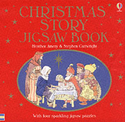 The Christmas Story Jigsaw Book by Heather Amery image
