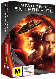Star Trek: Enterprise - Season 1 (New Packaging) on DVD image