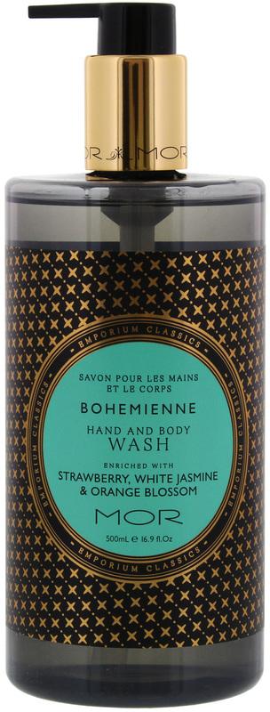 MOR Emporium Classics: Hand & Body Wash - Bohemienne (500ml)