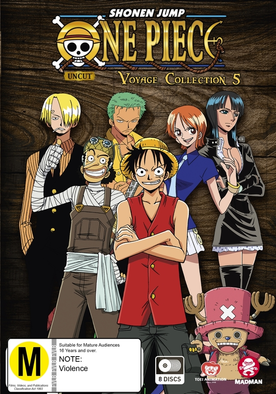 One Piece: Voyage - Collection 5 (Episodes 206-252) on DVD