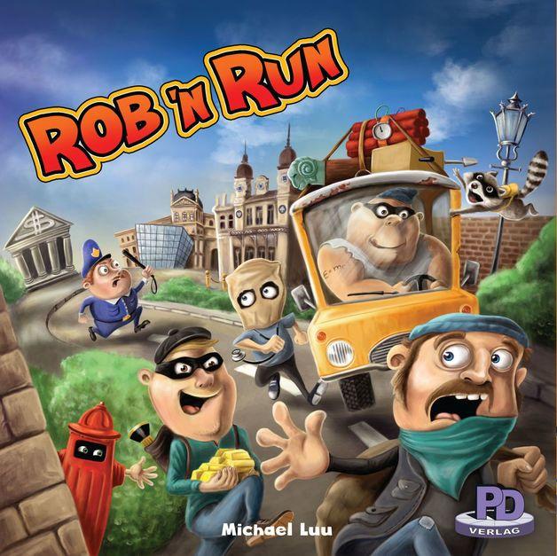 Rob 'n Run - Board Game