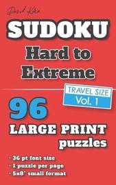 David Karn Sudoku - Hard to Extreme Vol 1 by David Karn image