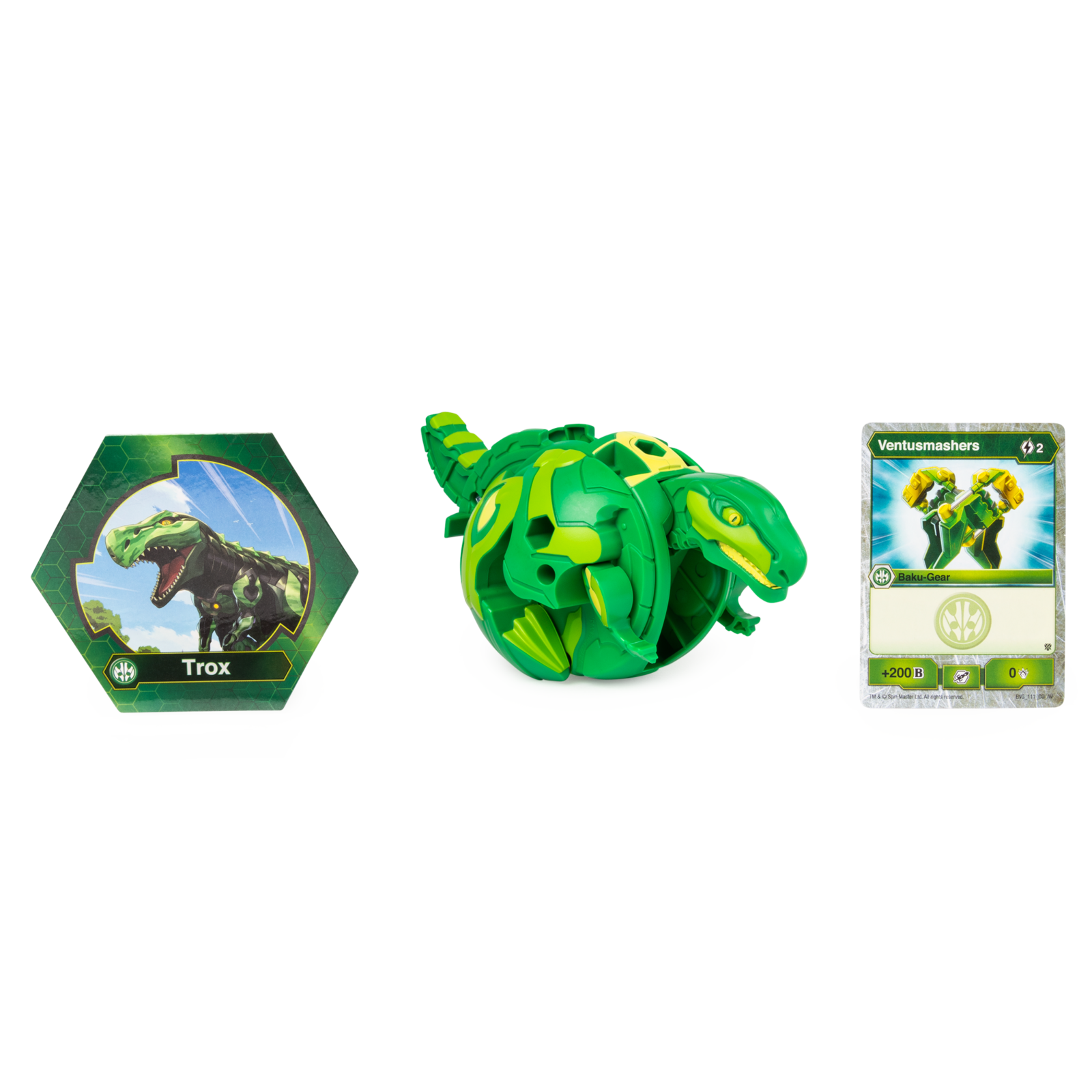 Bakugan: Battle Planet - Deka Bakugan (Trox) image