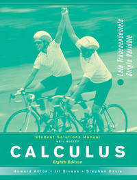 Calculus: Late Transcendentals Single Variable: Student Solutions Manual by Howard Anton image