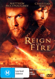 Reign of Fire on DVD image