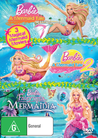 Barbie In A Mermaid's Tale / Barbie In A Mermaid's Tale 2 / Barbie - Mermadia on DVD