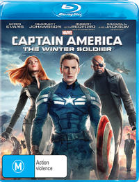 Captain America: The Winter Soldier on Blu-ray image