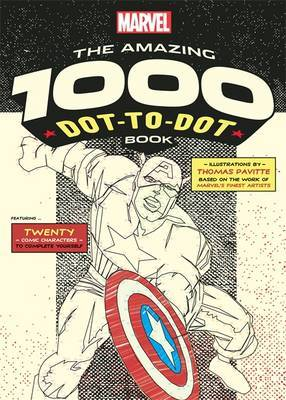 Marvel's Amazing 1000 Dot-to-Dot Book by Thomas Pavitte image