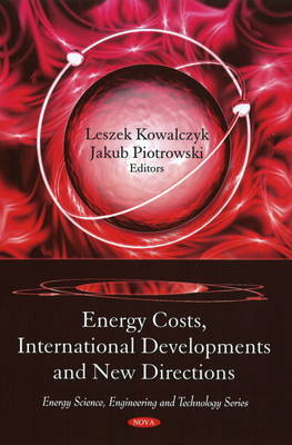 Energy Costs, International Developments and New Directions image