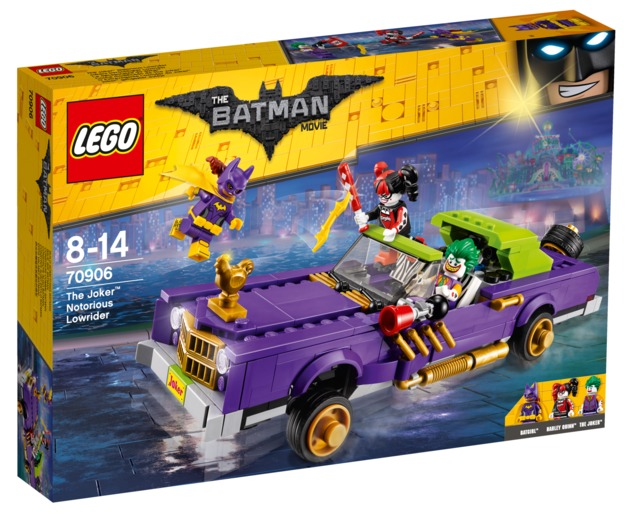 LEGO Batman Movie: The Joker's Notorious Lowrider (70906)