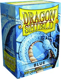 Dragon Shield Card Sleeves Blue