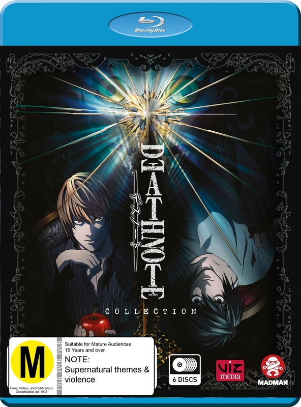 Death Note - Collection on Blu-ray
