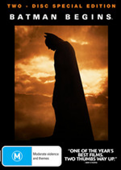 Batman Begins Deluxe Edition on DVD image
