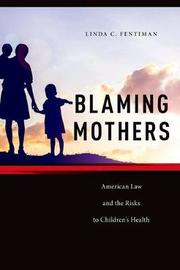 Blaming Mothers by Linda C Fentiman image